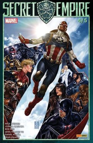 Secret Empire 4 Avril 2018 Panini Comics