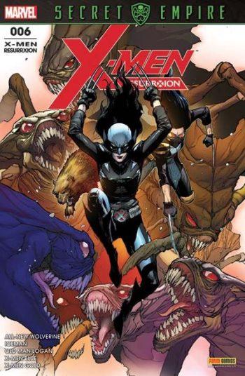 X-MEN ResurrXion Avri 2018 Panini Comics