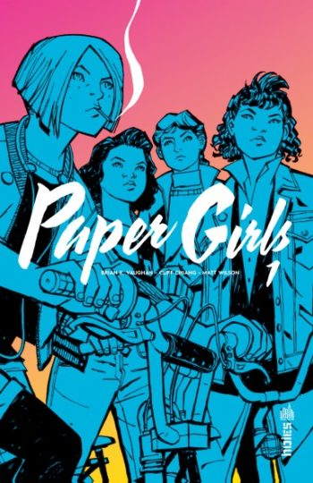 paper girls tome1 urban comics