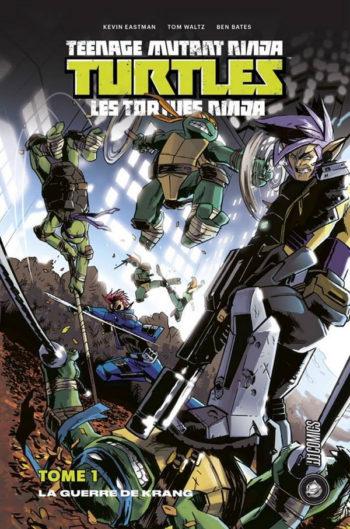 tortues ninja tmnt comics tome 1