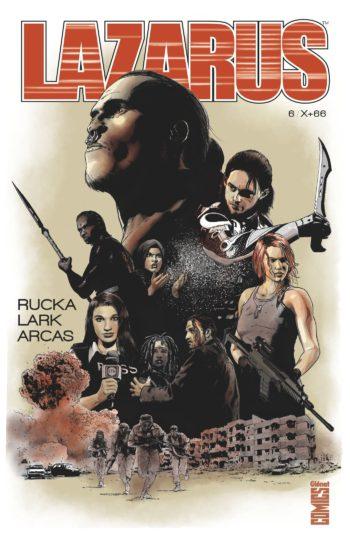 Glénat Comics Lazarus 6
