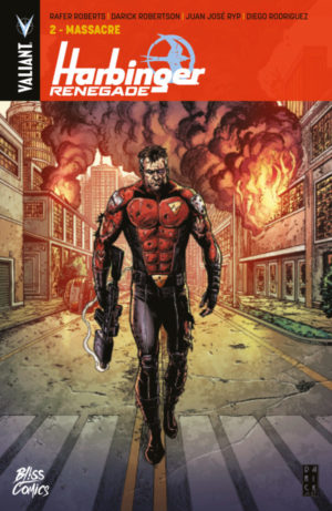 Bliss Comics Harbinger Renegade Tome 2