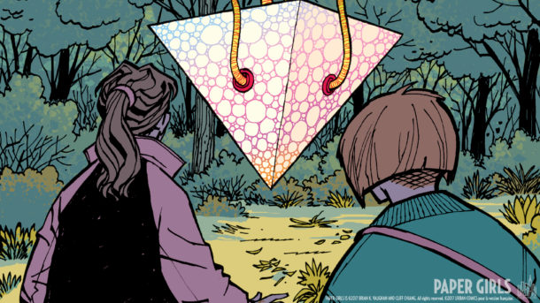 Paper Girls 3 page 1