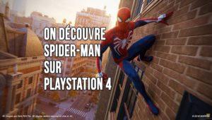 Spider-Man PS4 light