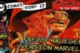 comics Story 13 Freddy Krueger Marvel comics