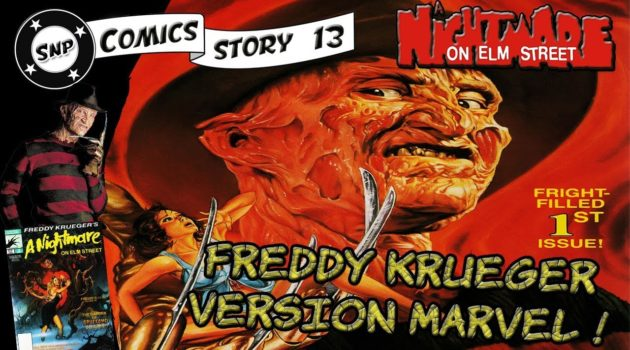 comics Story 13 Freddy Krueger Marvel comics