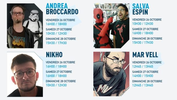 Nikho Comic Con Paris