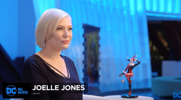 Joelle Jones DC All Access