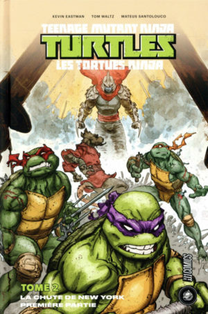 Tortues Ninja Tome 2 HiComics review