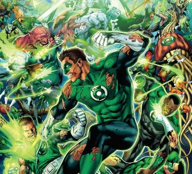 geoff johns présente green lantern urban comics