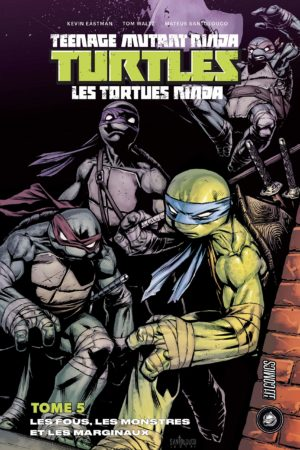 tortues ninja tome 5 hi comics
