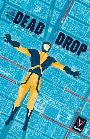 dead drop bliss comics valiant