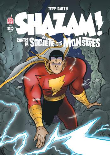 shazam société monstres urban comics