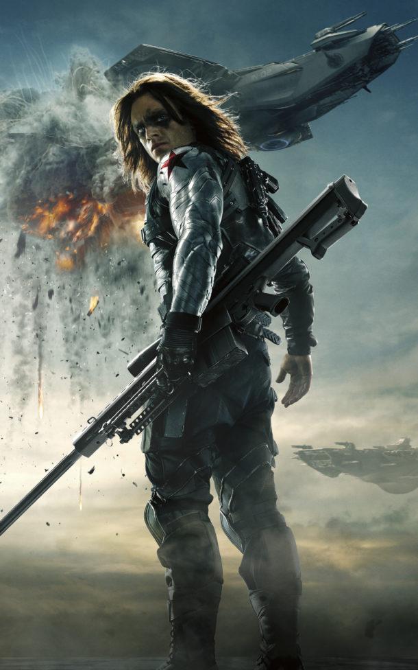 Bucky Barnes Soldat de l'Hiver MCU