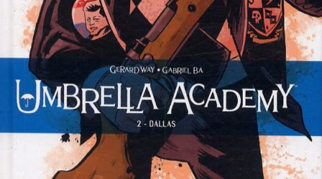 Delcourt Umbrella Academy tome 2