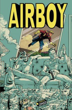 Jungle Comics Airboy