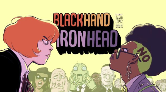 black hand & iron head urban comics