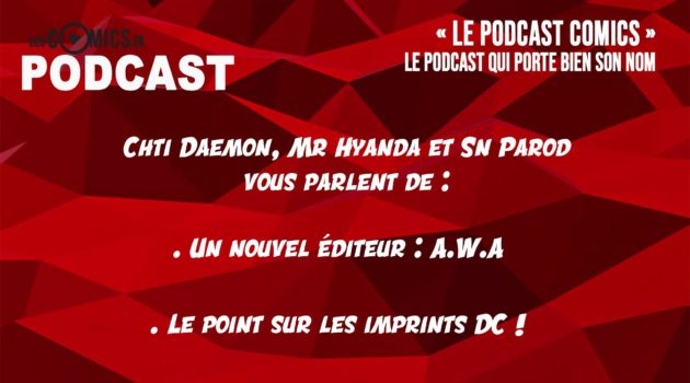 podcast comics 4 dc comics