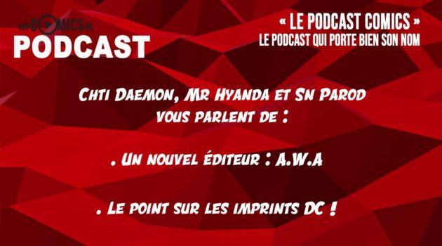 podcast comics 4 dc comics