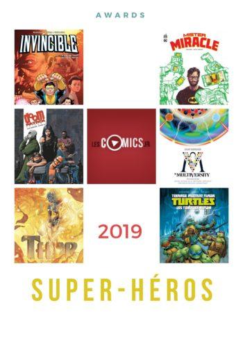 awards lescomics.fr catégoriese avec super héros
