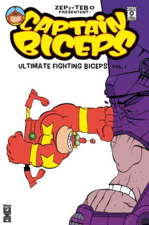 captain biceps glenat comics zop tebo