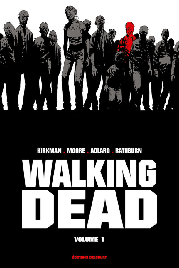 Couverture Tome 1 Walking Dead Prestige