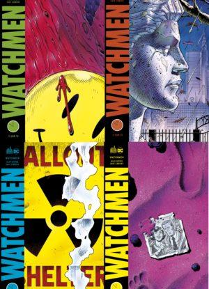 fac-similé watchmen urban comics