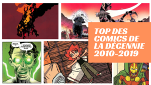 Top des comics de la décennie 2010-2019