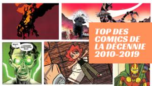 Top des comics de la décennie 2010-2019