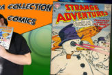 Sn Parod tient comics aventure fiction strange adventures 79. Présentation émission ma collection comics