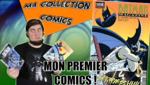 Sn parod tenant magazine batman, premier comics, collection comics