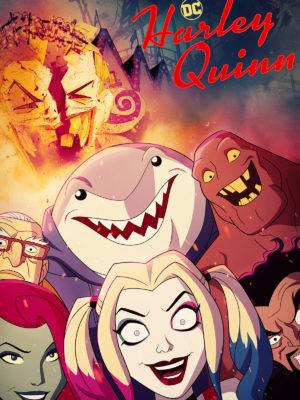 harley quinn série animée