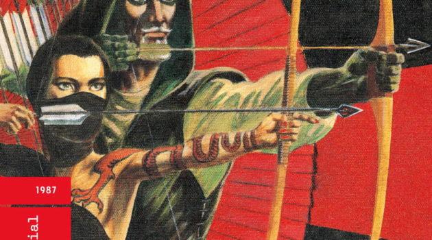 green arrow longbow hunters urban comics
