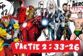 top 42 des héros marvel partie 2 iron man namor daredevil punisher black cat beta ray bill rom