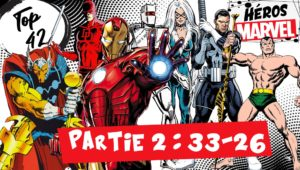 top 42 des héros marvel partie 2 iron man namor daredevil punisher black cat beta ray bill rom