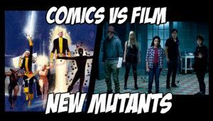 New Mutants film vs comics