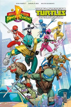 POwer Rangers TMNT