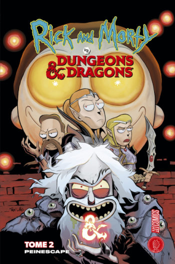 Rick & Morty Vs Dungeons & Dragons : Peinescape