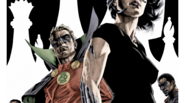 checkmate DC comics