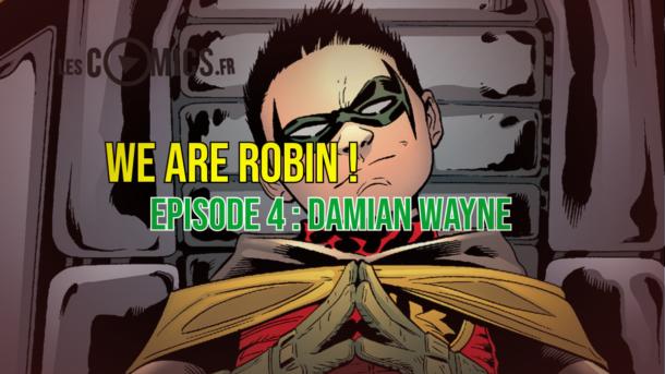 damian wayne robin comics