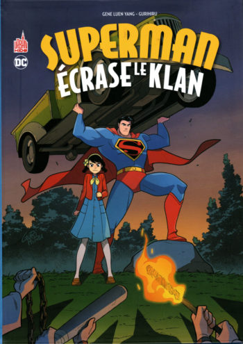 Superman écrase le klan comics