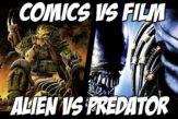 Alien vs predator comics