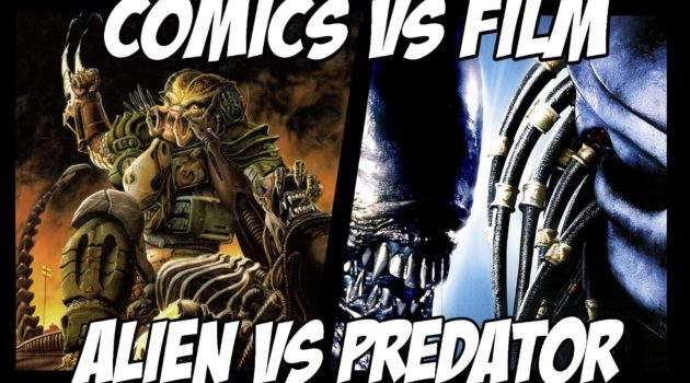 Alien vs predator comics