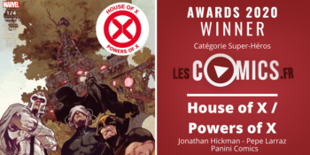 awards 2020 house of x power of x panini comics