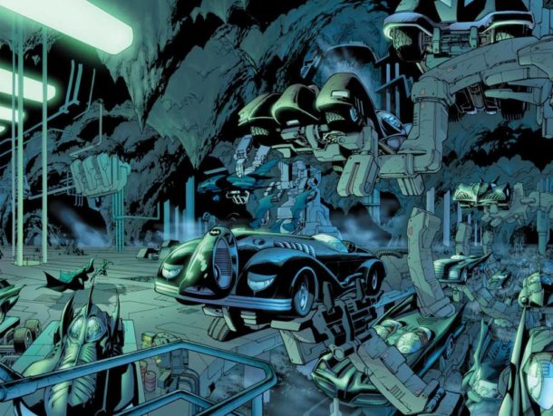 batman mythology batcave urban