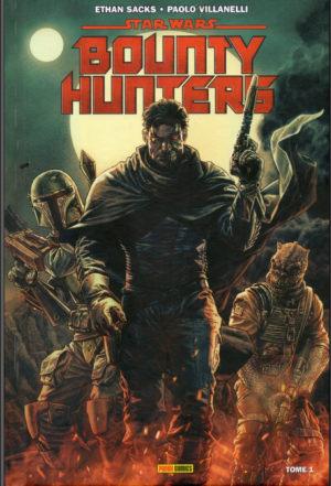 Star wars bounty hunters comics