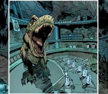 dinosaure batcave