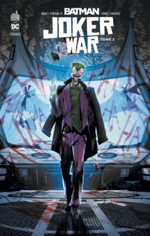 Batman Urban Comics Joker War tome 2