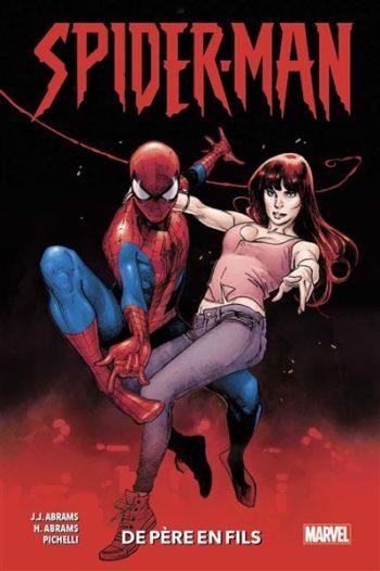 spider-man abrams père fils