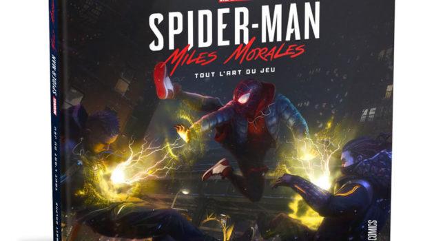 spider-man miles morales artbook